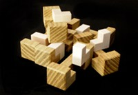Picture of puzzle named '6-Piece Burr Variation'